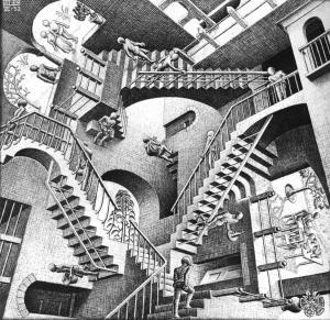escher-Monter-descendre