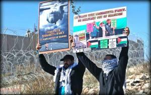 soutien pour D'arcy en Palestine